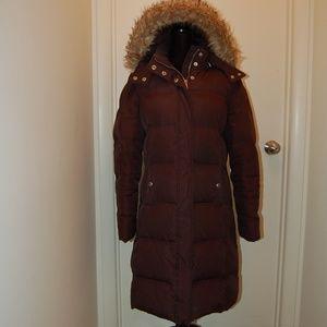 Michael Kors Long Black Puffer Coat